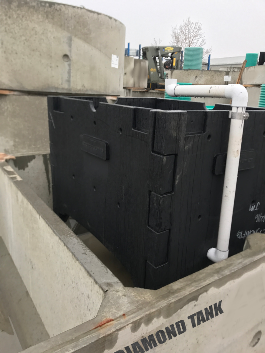 Concrete Wastewater Treatment Plant